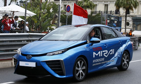 Toyota mirai makes motorsport history toyota for Toyota motor company profile