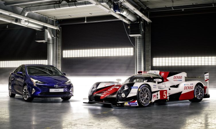 TS050 and Prius