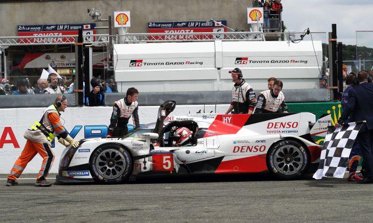 TS050 at Le Mans