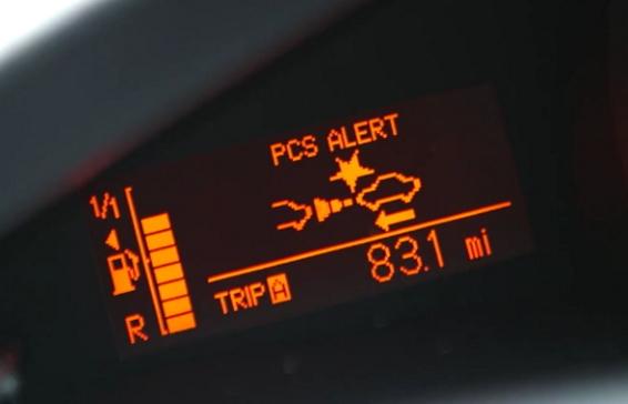 Toyota Verso - Toyota Safety Sense with PCS