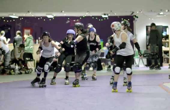 Toyota Verso meets Rainy City Roller Derby