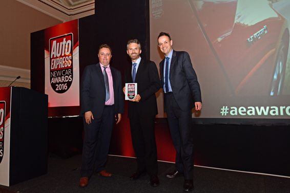 Auto Express Award