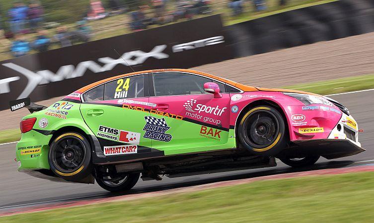 Jake Hill (GBR) RCIB Insurance Racing Toyota Avensis