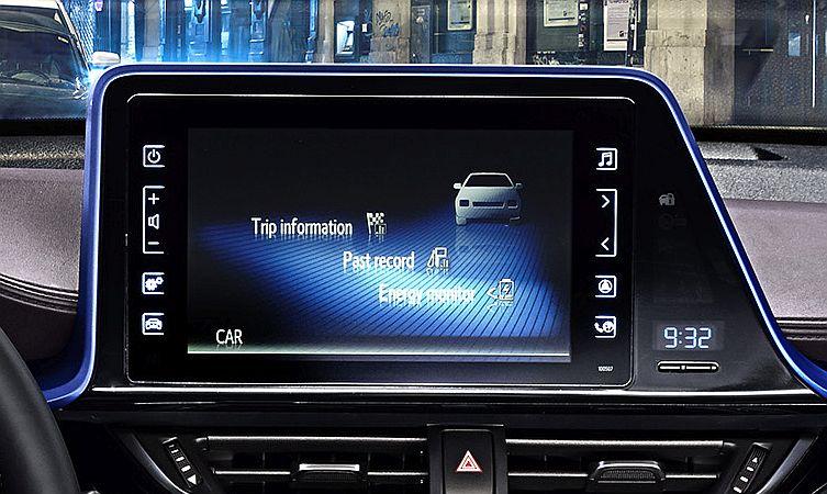 C-HR screen