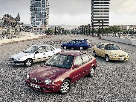 8th generation Toyota Corolla
