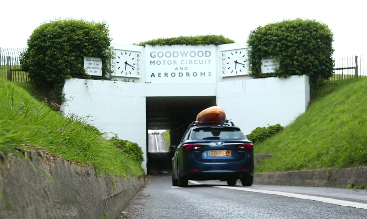 Billy's Britain visits Goodwood Motor Circuit