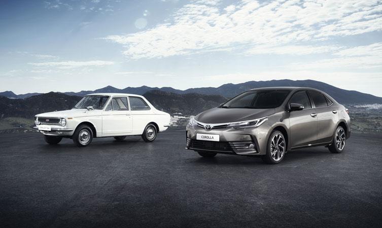 Toyota Corolla generations