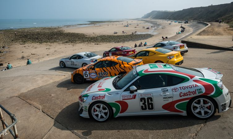 Build Your Own Toyota >> Drive: our retro-livery Toyota GT86 fleet - Toyota