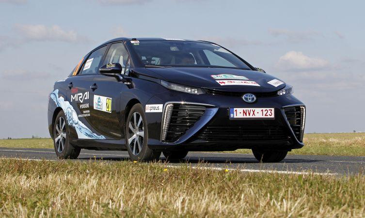 MIRAI Hydrgène Toyota.