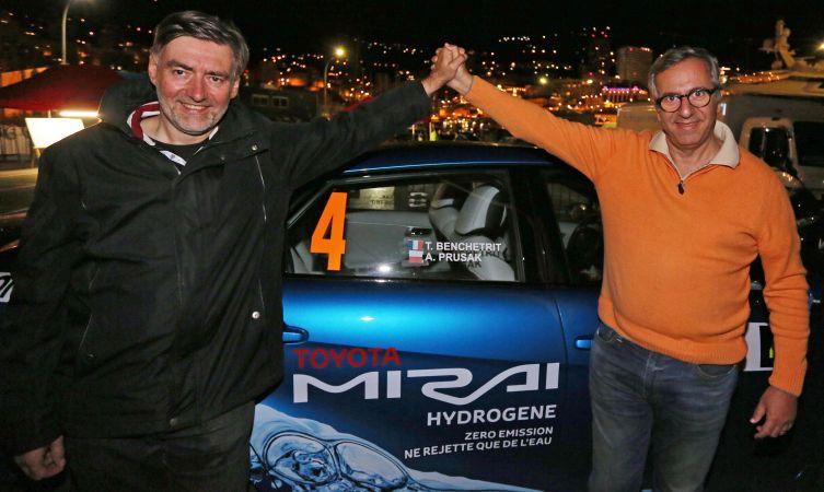 e-Rallye Monte Carlo - Toyota.
