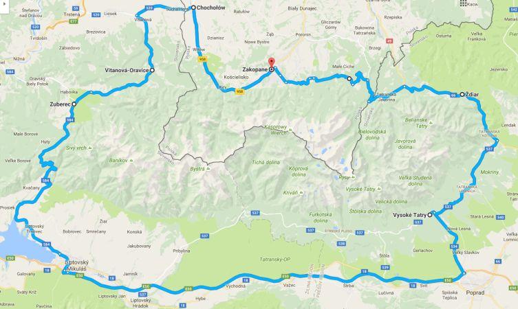 tatra-route