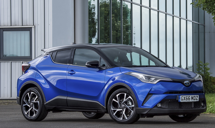 Toyota C-HR Hybrid Claims Next Green Car's Top Crossover