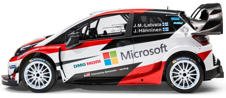 Toyota Reveals Final Yaris Wrc Car And Driver Team Toyota