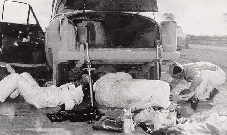 Toyota's first rally car
