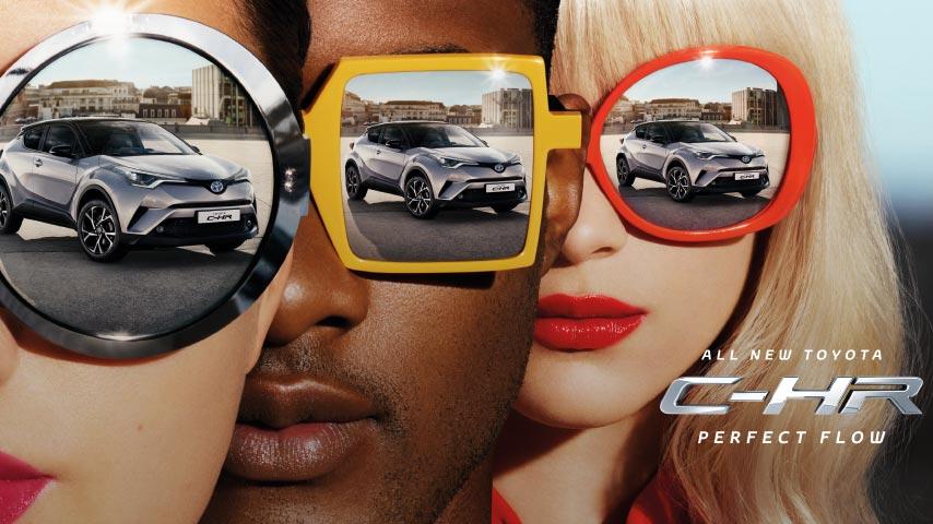 Toyota C-HR advert music