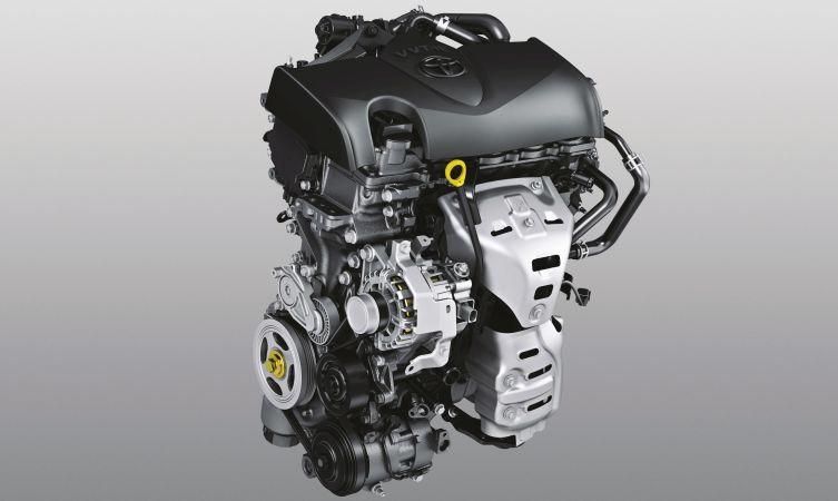 2017 Toyota Yaris engine