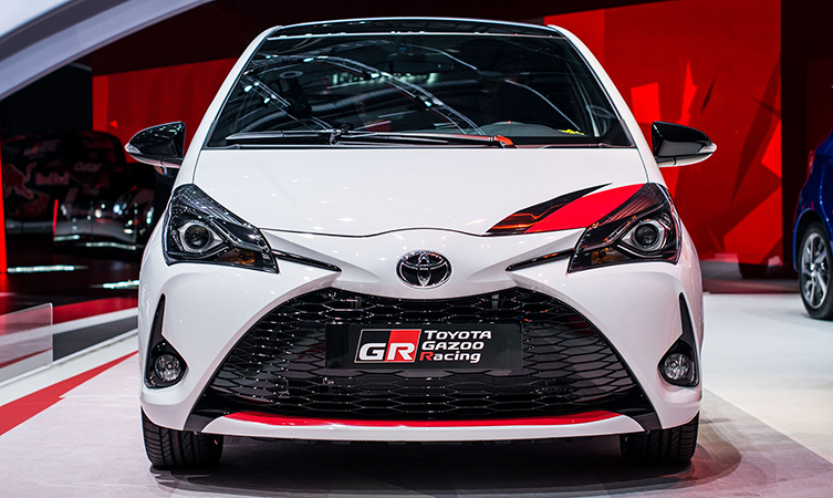 Yaris Grmn Hot Hatch Revealed In Full At The Geneva Motor Show Toyota