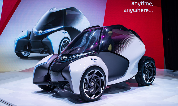 Toyota I-TRIL Concept Unveiled At The Geneva Motor Show