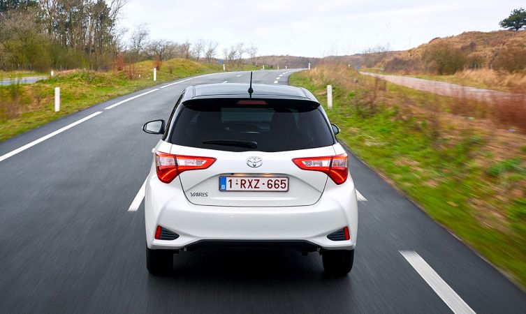 2017 Toyota Yaris back