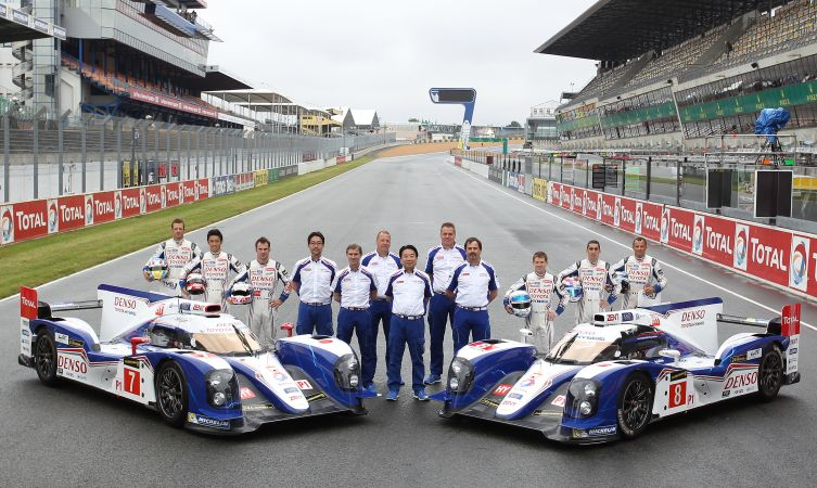 Toyota at Le Mans