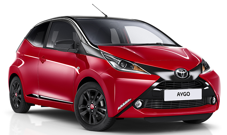 New Aygo X Cite Gets Red Hot This Summer Toyota