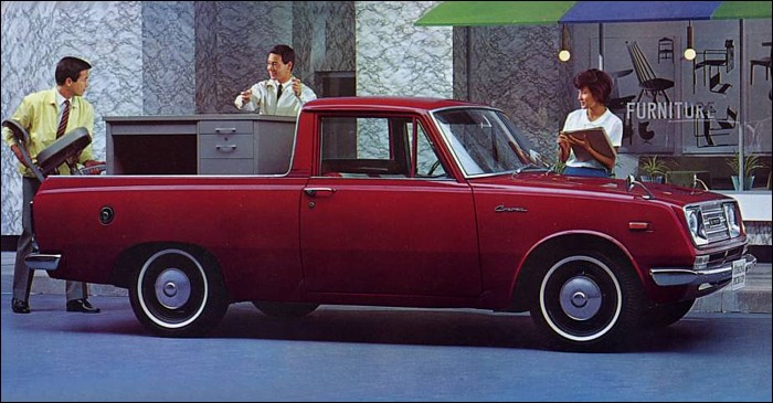 in focus 1967 toyota corona pick up toyota. Black Bedroom Furniture Sets. Home Design Ideas