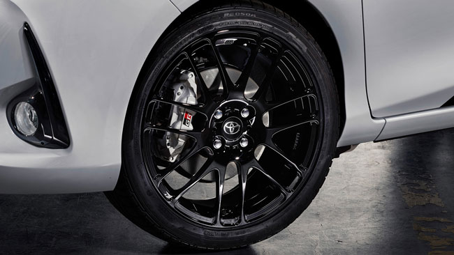 Toyota Yaris GRMN forged alloy wheels
