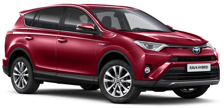 More Hybrid Models Lead Revisions For 2018 Toyota Rav4 Toyota