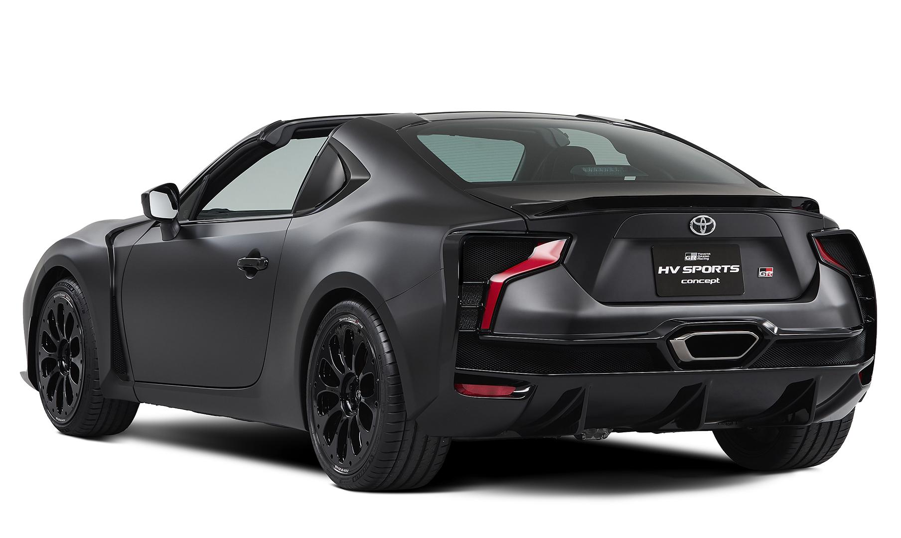 Gr Hv Sports Concept Revealed At Tokyo Motor Show 2017