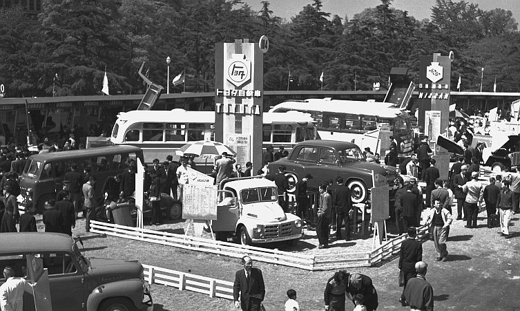 History Of Toyota At The Tokyo Motor Show 1954 1963 Toyota