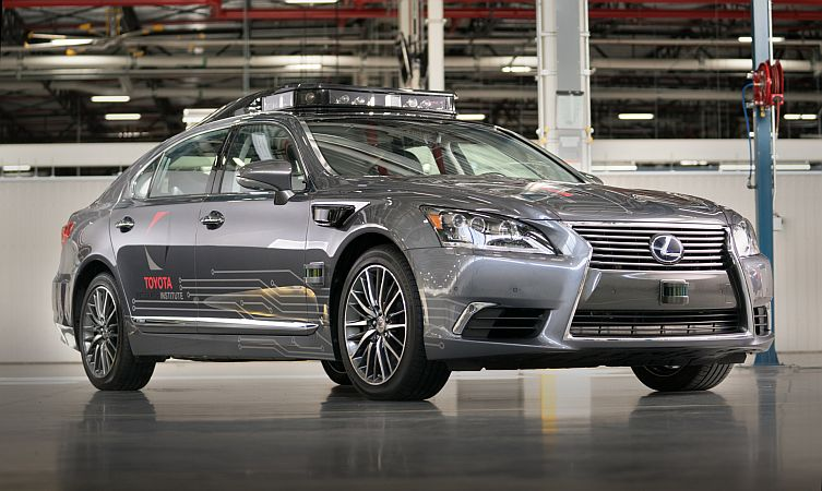 Toyota Research Institute >> Toyota Research Institute To Present New Automated Driving