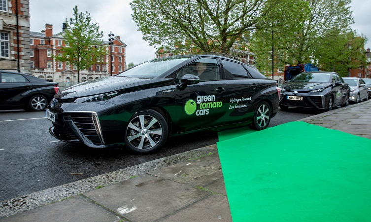 Fifty zero emission Toyota Mirai fuel cell vehicles join