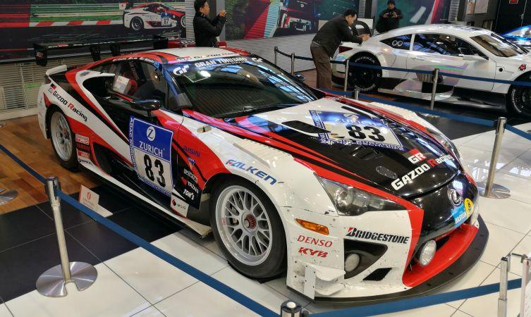 Lexus LFA racing car