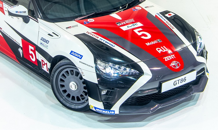 How we made our Le Mans heritage Toyota GT86s - Toyota