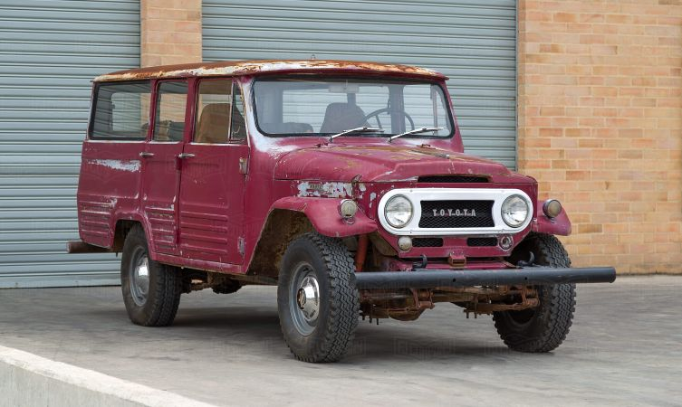 Restoring one of the rarest Toyota Land Cruiser models - Toyota