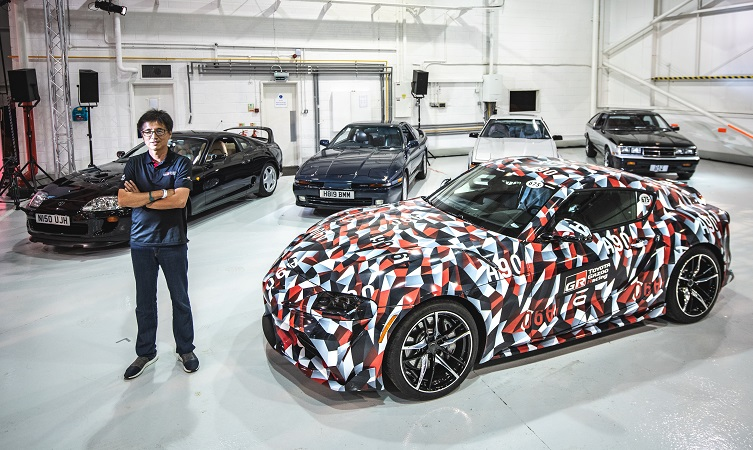Five Generations Of Supra Together For The First Time Toyota