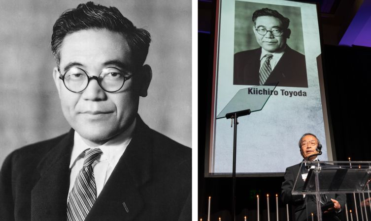 Toyota Official Site >> Kiichiro Toyoda inducted into the Automotive Hall of Fame - Toyota