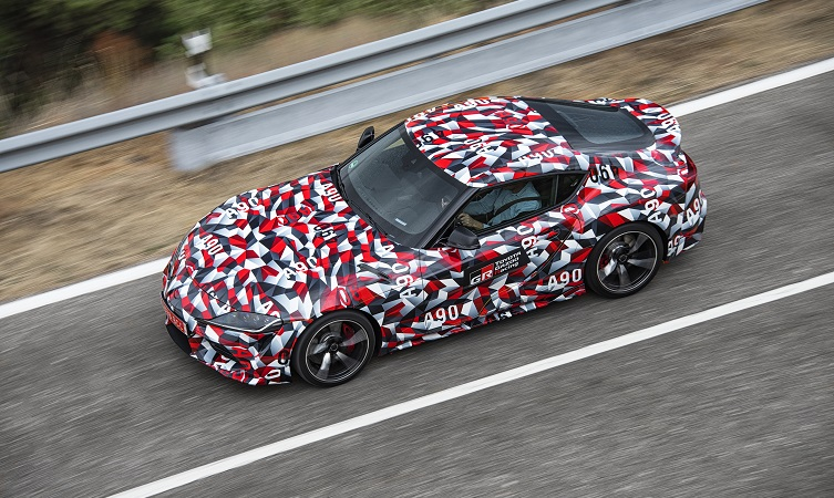 Toyota GB launches limited edition Supra wrapping paper - Toyota a4b4fd07aa