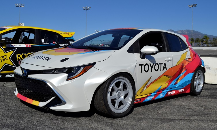 modified Toyota Corolla