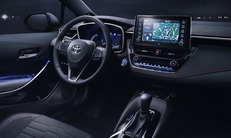 Explore the new 2019 Toyota Corolla: comfort and technology - Toyota