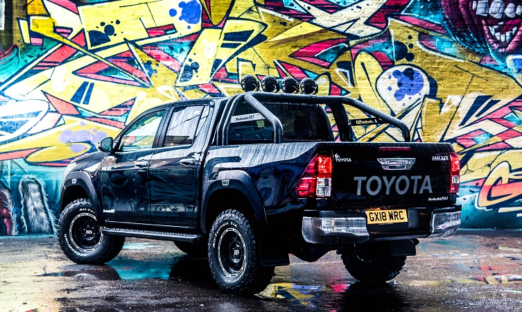 Limited-edition Hilux marks 50 years of Toyota's invincible