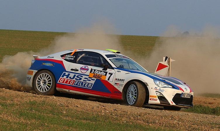 Toyota's motorsport successes 2018 German Rally Championship GT86 edit