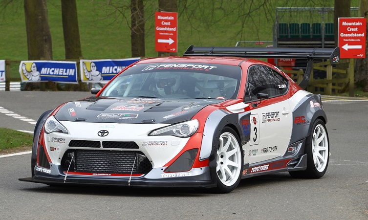 Toyota's motorsport successes Adrian Smith GT86R Turbo