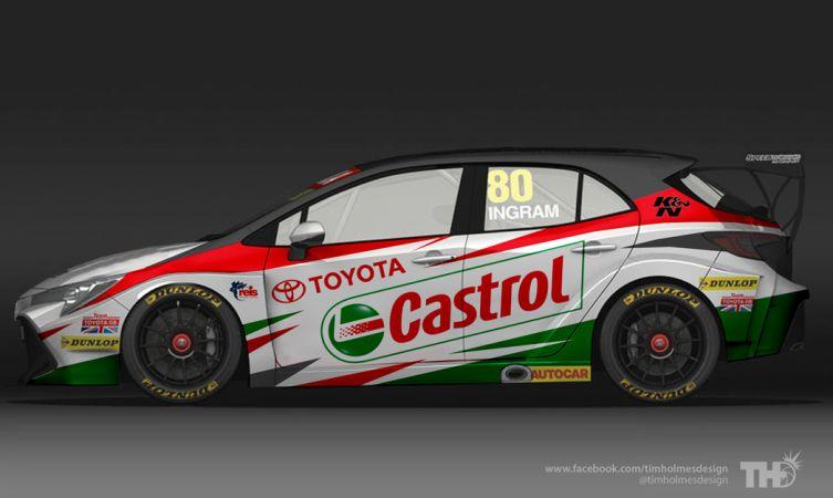 Toyota Corolla BTCC Castrol