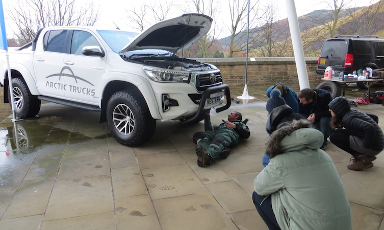 World Extreme Medicine Hilux Checks