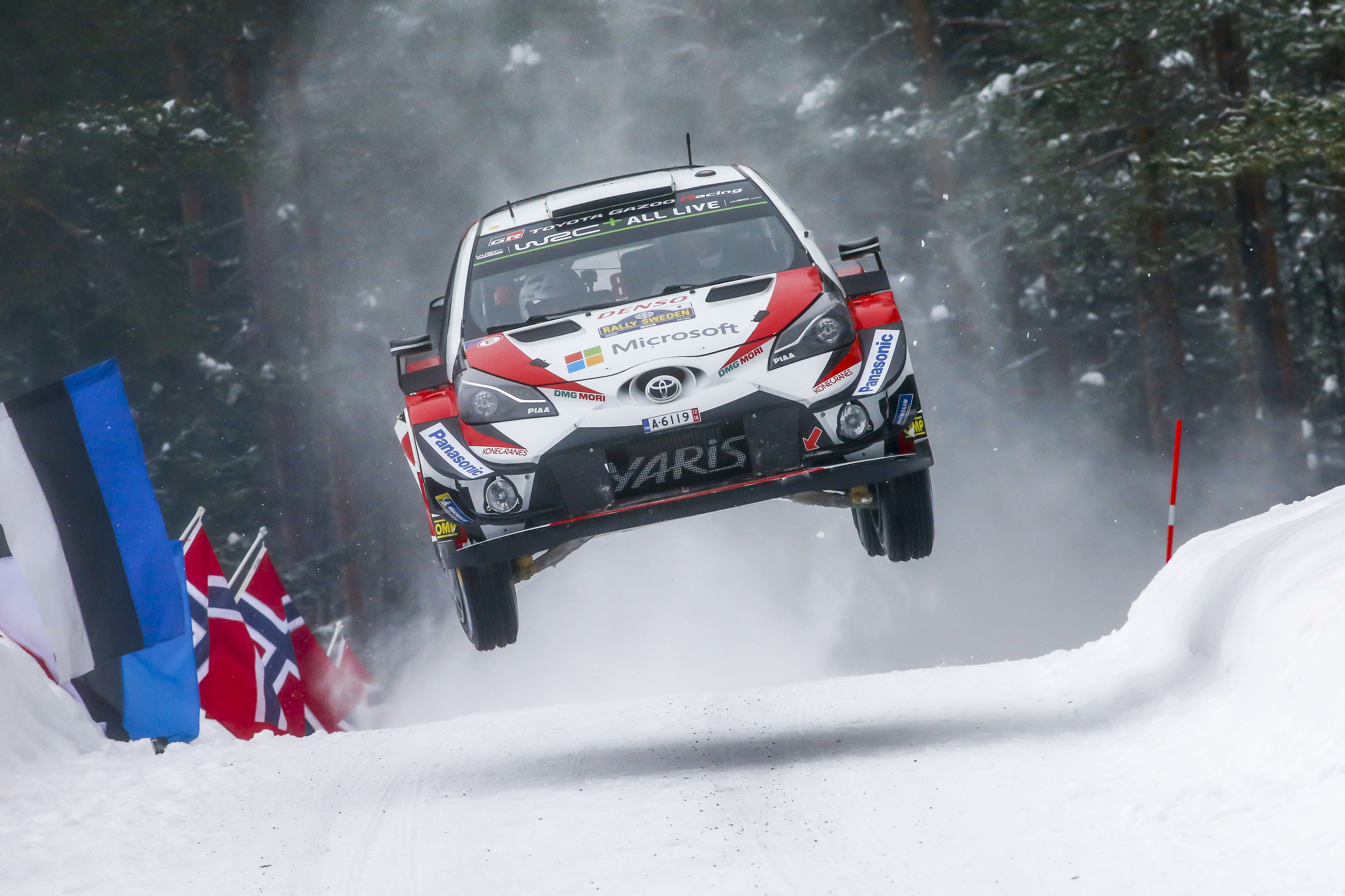 Latvala Rally Sweden