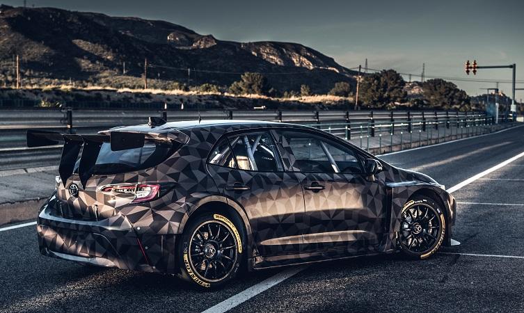 BTCC Corolla testing Spain 05