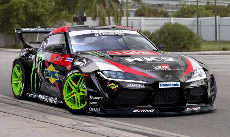GR Supra drift car Daigo Saito 01