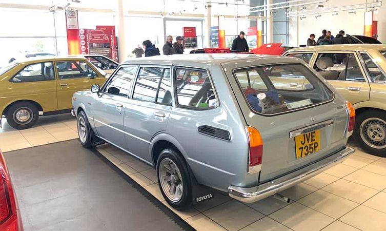 Toyota Retro Day
