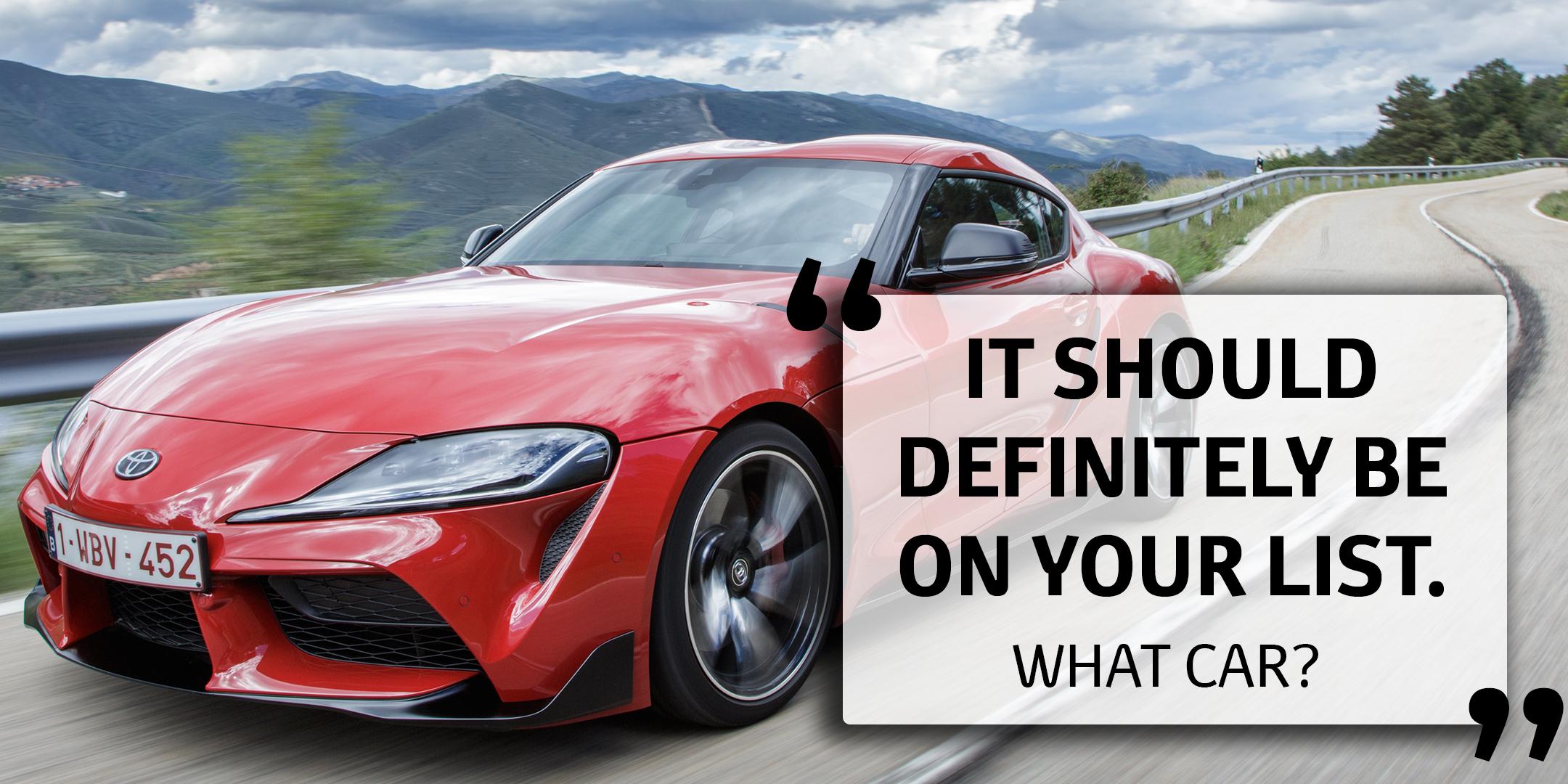 Toyota GR Supra reviews
